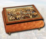 Jerusalem collectible wood jewelry music boxes