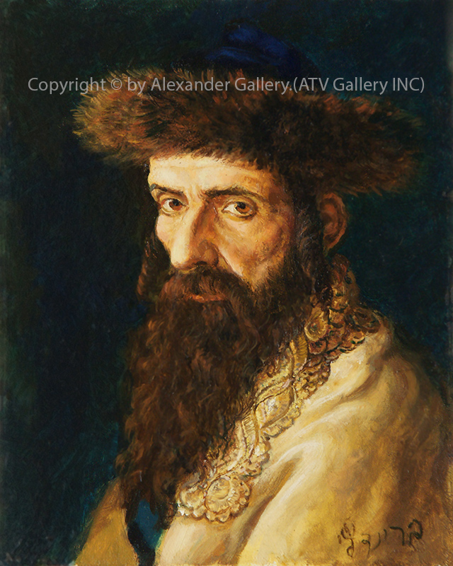 Portrait of Hassid IV..