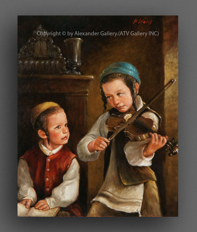 The Boy`s With Violin..