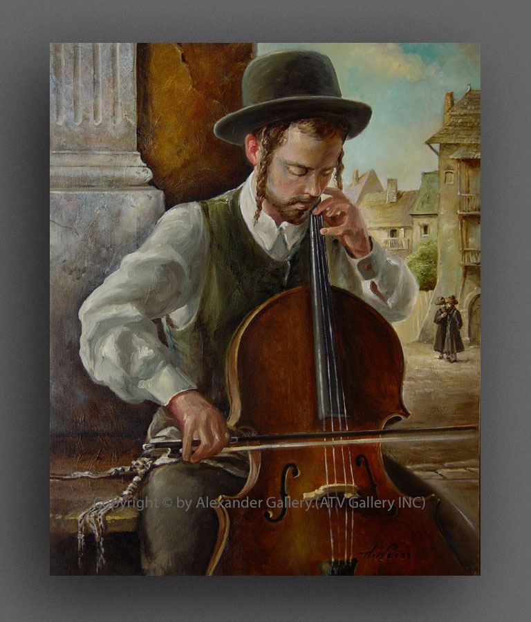 The Violoncellist..