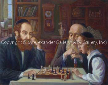 Chess Play. by Victor Brindatch