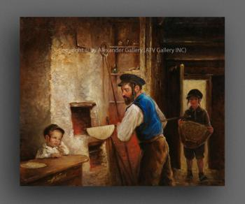 Making Matzos II. by H. Weiss